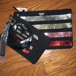 3 Victoria's Secret bag set